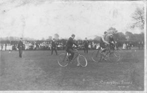 Cycling race. Image courtesy Heritage Doncaster