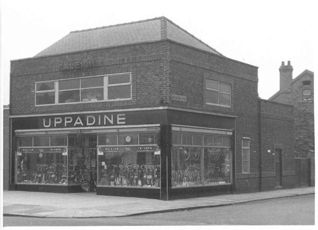 Uppadine Cycle Shop