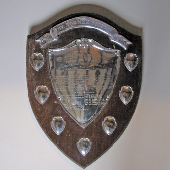 The 'Turner Shield' Presented annually for the fastest miles time trial by a North Eastern Region Member of the Tricycle Association. Courtesy Martin Purser