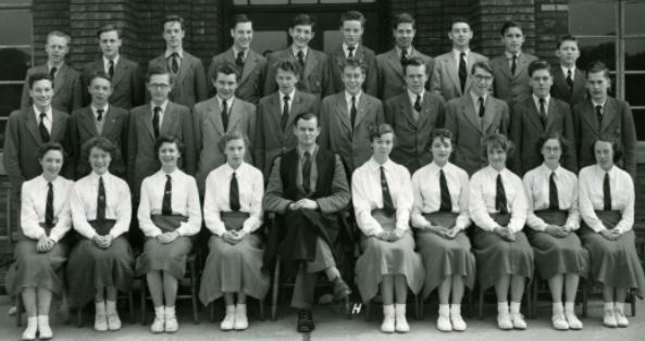 Form 5AS, Percy Jackson Grammar School, 1955