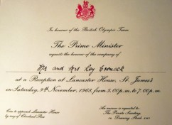 Invitation from the Prime Minister