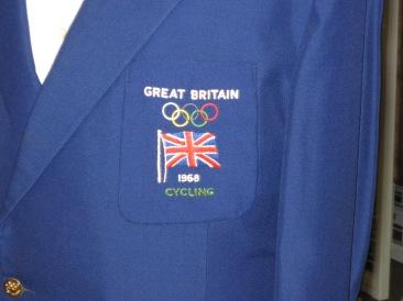 Roy Cromack Blazer Badge. Image courtesy Janet Roberts.