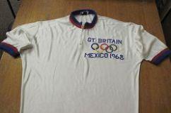 Roy Cromack Olympic jersey. Image courtesy Janet Roberts.
