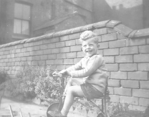 Dennis age 3 years, tricycle - Janet Roberts