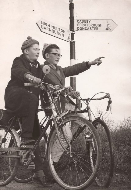 Last spin in 1965. Image taken by Yorkshire Post photographer.