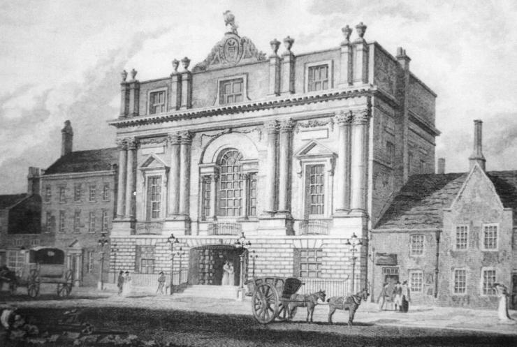 Velocipedes Doncaster Mansion House c1800